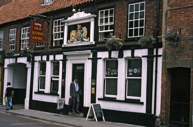 Ye Old Kings Arms Public House, Kirk Gate, Newark, 1987