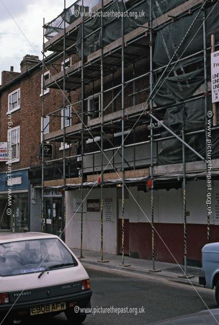 Shop Premises Under Development, Middle Gate, Newark, 1987