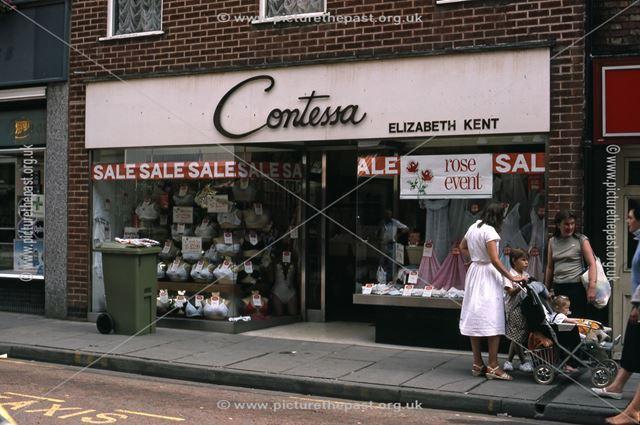 Contessa Shop, Middle Gate, Newark, 1987