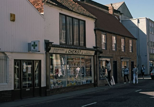 Graham Morris's Chemists, Barnby Gate, Newark, 1987