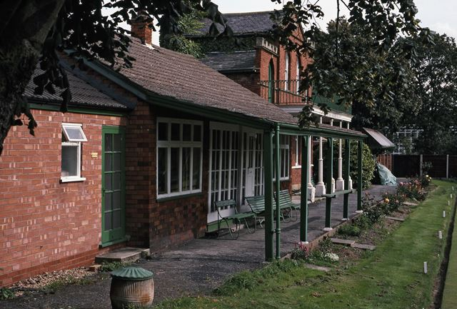 Near the Old Bowling Pavilion, Chatham Court, Newark, 1987