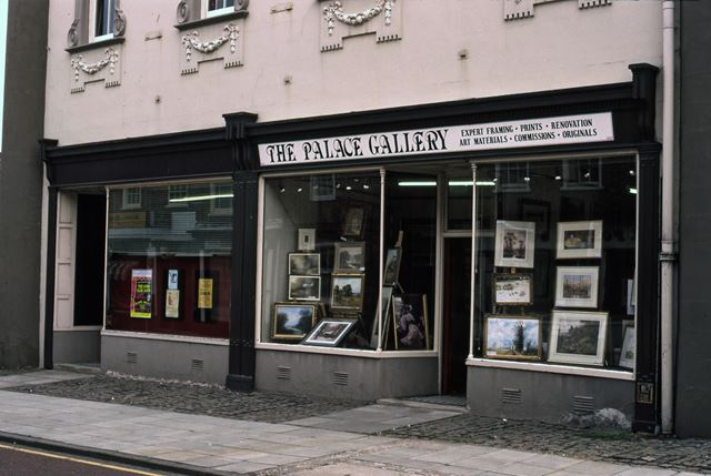 Palace Theatre and Art Shop, Appleton Gate, Newark, 1987