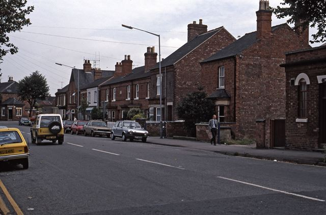 Appleton Gate near Sleaford Road Junction, Newark, 1987