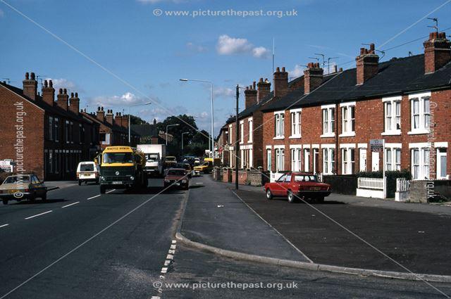 Sleaford Road Looking West, Newark, 1987