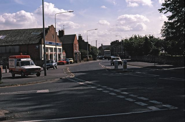 Sleaford Road from Junction Looking East, Newark, 1987