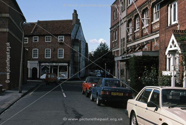 Magnus Street near Police Station, Newark, 1987
