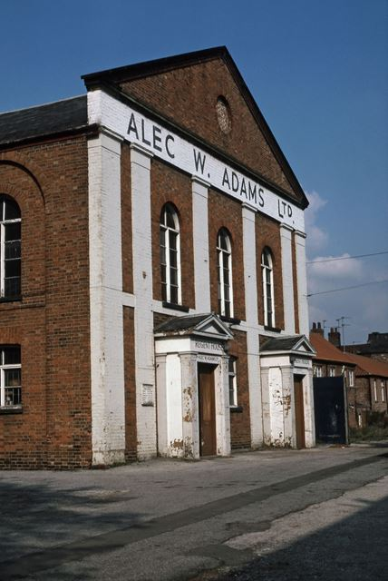 Alec Adams Warehouse (Old Church), Lombard Street, Newark, 1987