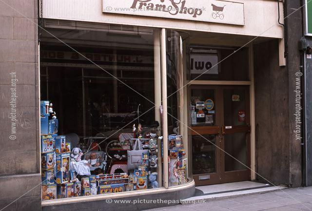Pram Shop, Stodman Street, Newark, 1987