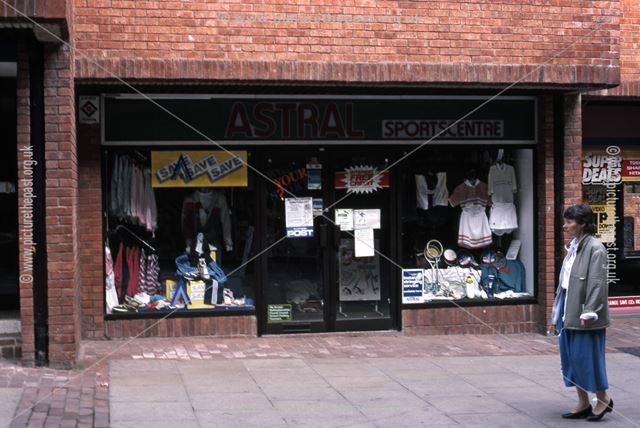Astral Sports Shop, St. Mark's Shopping Precinct, 1987