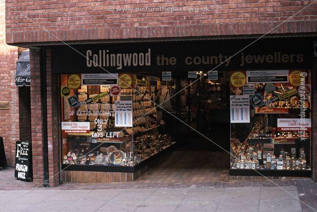 Collingwoods Jewellers, St. Mark's Shopping Precinct, 1987