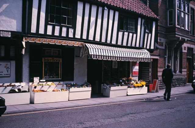 Old Fish Shop, Kirk Gate, Newark, c 1986