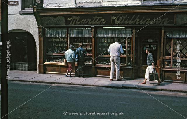 Jewellers, Church Street, Newark, c 1986