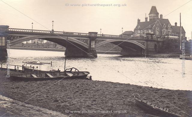 Trent Bridge, London Road, Nottingham, c 1920