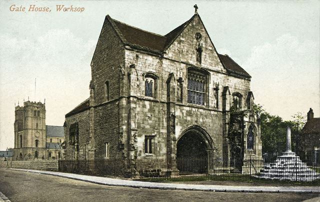 Priory Gate House, Cheapside, Worksop, 1901