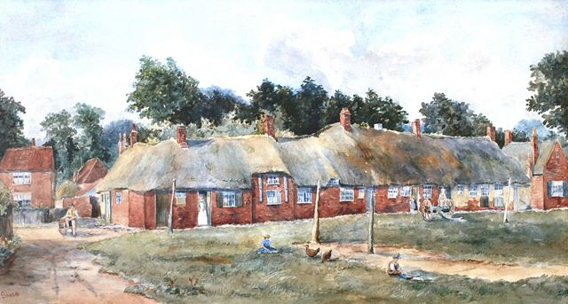 'Sketch in Wilford', Wilford Village Green, Wilford, Nottingham, c 1860s