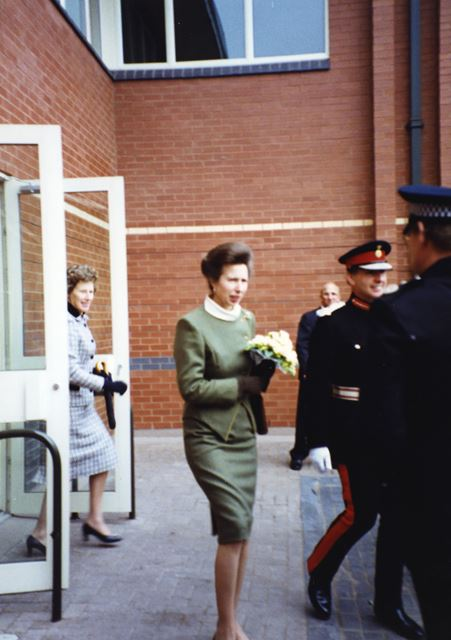 The Princess Royal officially opening the new £1.4m Nottinghamshire Archives Office, 1993