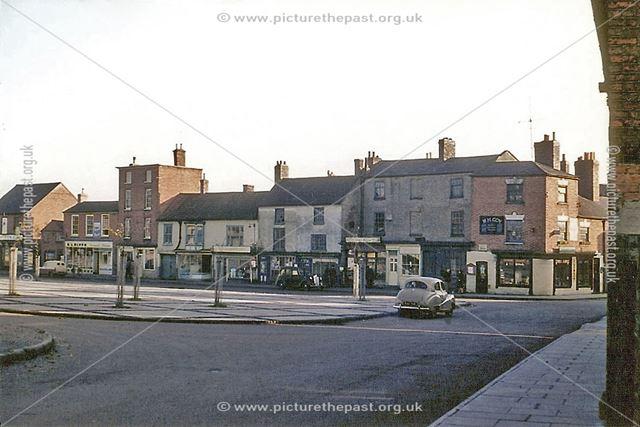 Bingham Market Place, 1959
