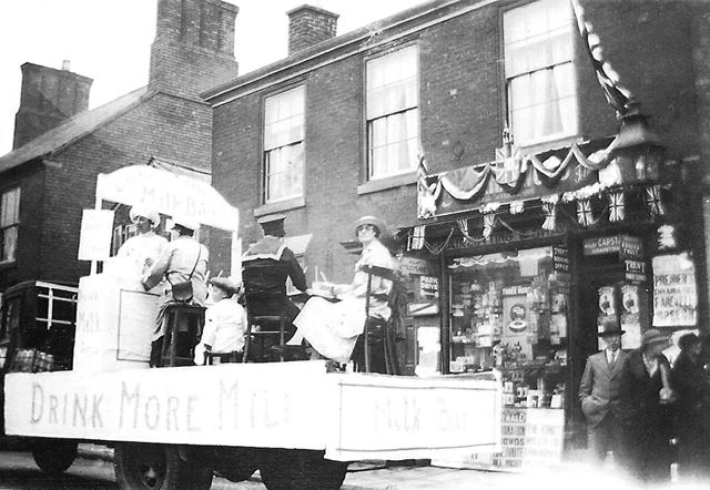 Celebration of George V Silver Jubilee, Market Place, Bingham, 1935
