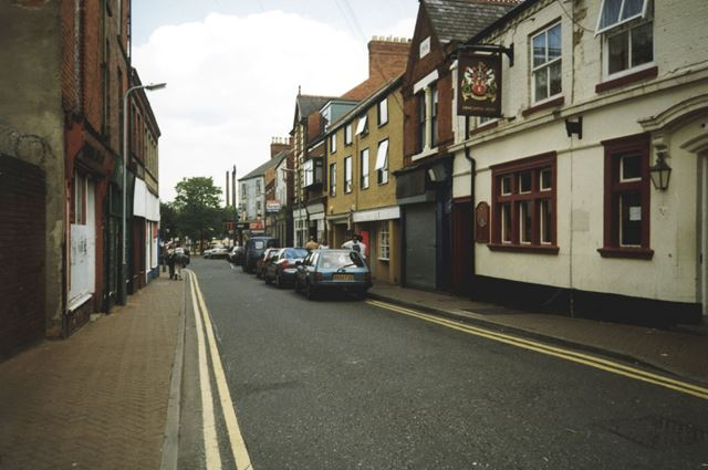 King Street Prior to Re-Development, Sutton-in-Ashfield, 1999