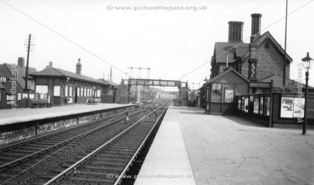 Basford and Bulwell Station, Old Basford, Nottingham, c 1930