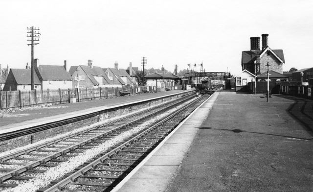 Basford North Station, Old Basford, Nottingham, c 1960