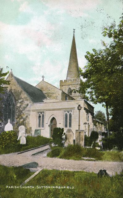 Sutton Bonnington Church, c 1900 ?