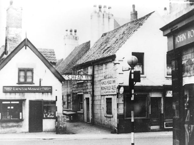 The King's Head, Stockwell Gate, Mansfield, c 1953