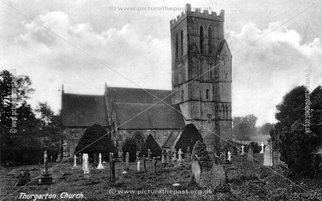 Church, Thurgarton, 1940-50s