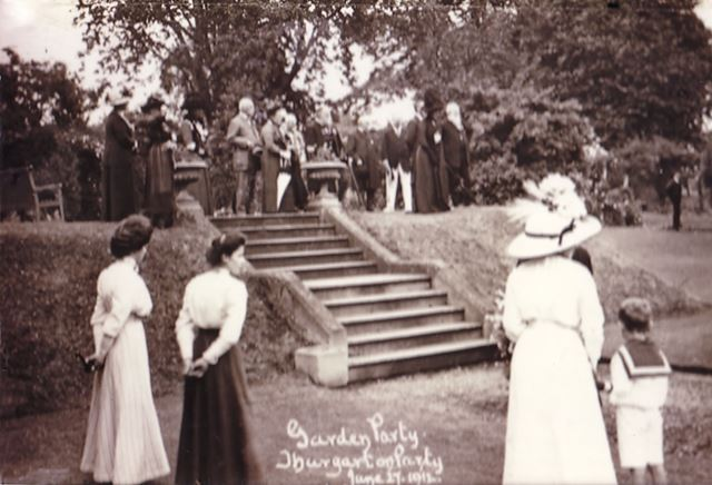 Mrs Upton's Garden Party, Thurgarton Priory, 1911