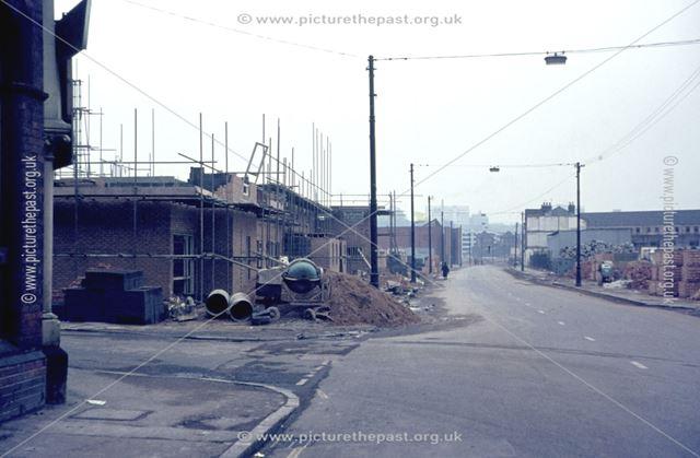 Demolition of The Meadows, c 1974