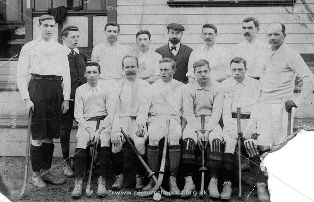 Hockey Team, Worksop, c 1905