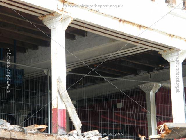 Demolition of Beeston Maltings, 2012