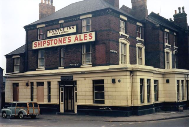 Castle Inn, Meadows, Nottingham, c 1975