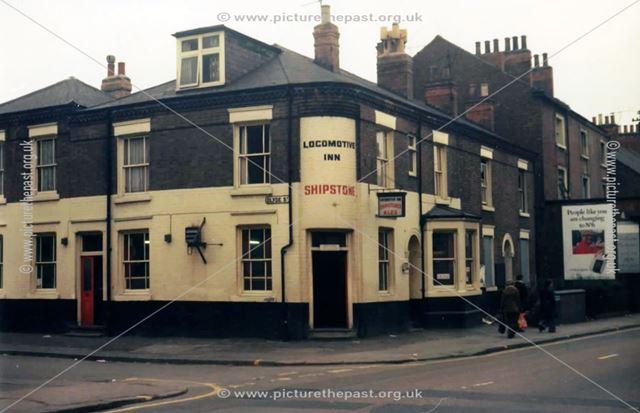 Locomotive Inn, Meadows, Nottingham, c 1975