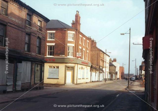 Cricketers Rest Pub, Meadows, Nottingham, c 1975