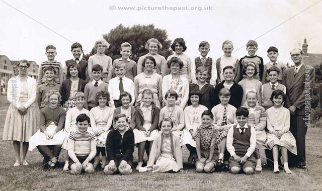 Mowlands Junior School Form 4A, Kirkby-in-Ashfield, 1961