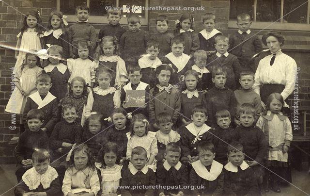 Group 2, Council School, Huthwaite, c 1900 ?