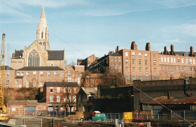 Narrow Marsh area, Nottingham, 2001