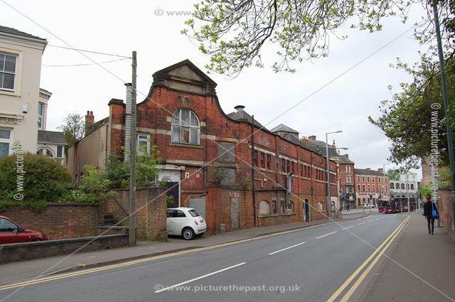 Former Livery Stables, Talbot Street, Nottingham, 2015