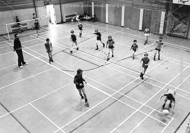 Belper Sports Centre - sports hall