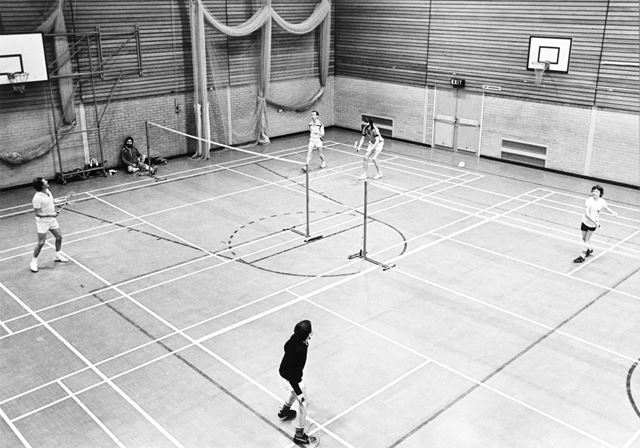 Belper Sports Centre - sports hall