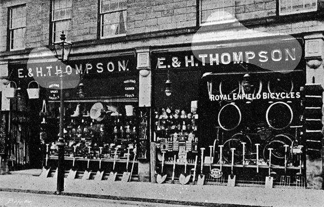E and H Thompson, cycle agents and ironmongers