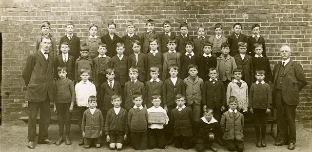Somercotes Boy's School Group 6