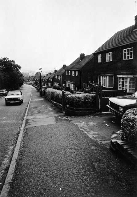 Rodgers Lane, Alfreton, 1987