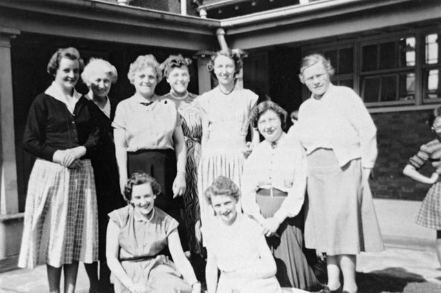 School Staff of Ripley County Junior Girls School, 1956