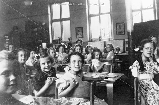 Class IV of Ripley County Girls School, 1953