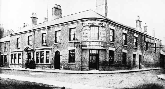 Erewash Hotel, Station Road, Langley Mill, c 1900s