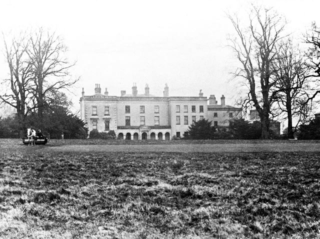 Smalley Hall, Main Road, Smalley, c 1910