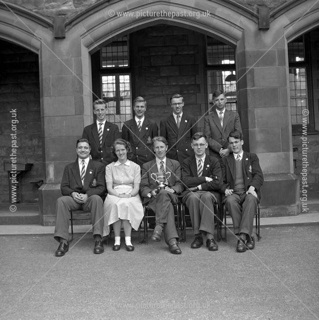 Twelth Night at Performed at Herbert Strutt School, Derby Road, Belper, c 1950s ?