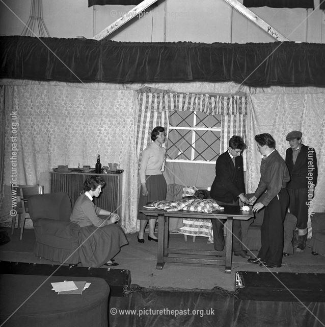 Play at Herbert Strutt School, Derby Road, Belper, 1960